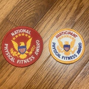 National Physical Fitness Award Patches